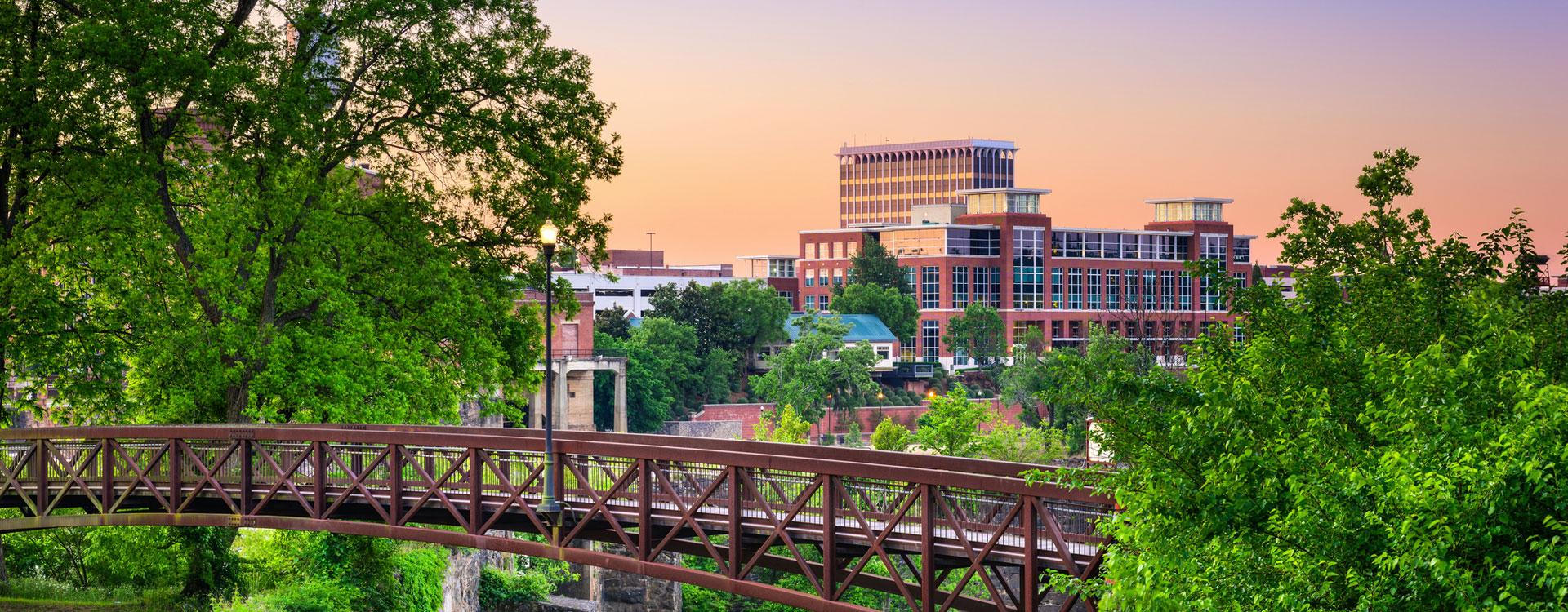 image of Columbus, GA Riverwalk from Phenix City, AL